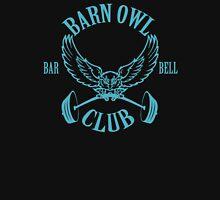 Barn Owl Barbell Club Turquoise Tank Top