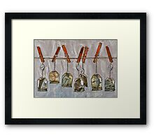Homesickness tea and other remedies ... Framed Print