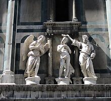 Statues at Duomo Cathedral by Darrell-photos