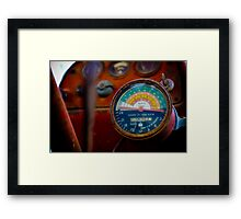 23698 Hours Framed Print