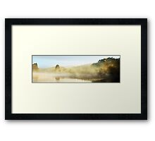 Manning River New Years Day Framed Print