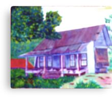 My Old House Canvas Print