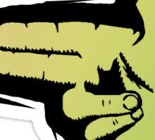Hands To Guns Sticker