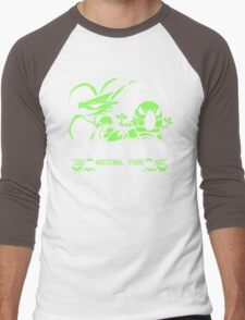 Bug Catcher Men's Baseball ¾ T-Shirt