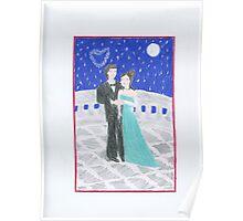 Valentine's Day Night Poster