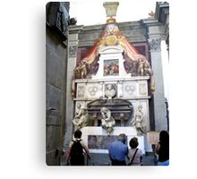 Michelangelo's Tomb in Santa Croce-Florence Canvas Print
