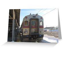 1503 MBTA Commuter Rail Part 2 Greeting Card