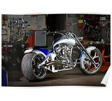 Custom Von Dutch Chopper Poster
