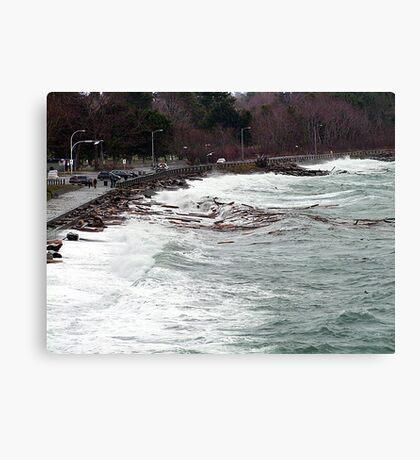 Ross Bay Storm Canvas Print