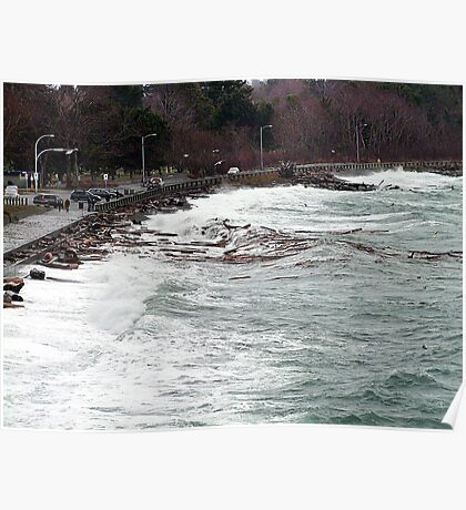 Ross Bay Storm Poster