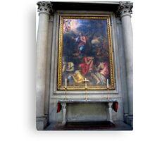 Inside Santa Croce 2 Canvas Print