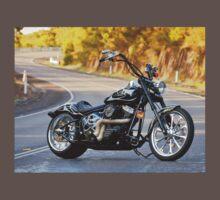 Jeremy's Custom Harley Davidson Baby Tee