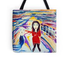 The Scream Starring Frances Tote Bag