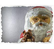 Santa Says Hi Poster