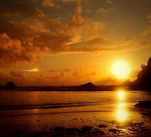 GOLDEN  SUNSET by RoseMarie747