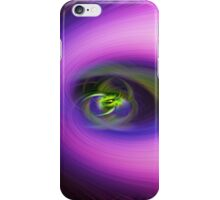 Abstract passion fruit vine iPhone Case/Skin
