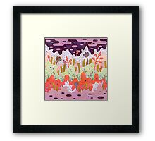 Crystal Forest Framed Print