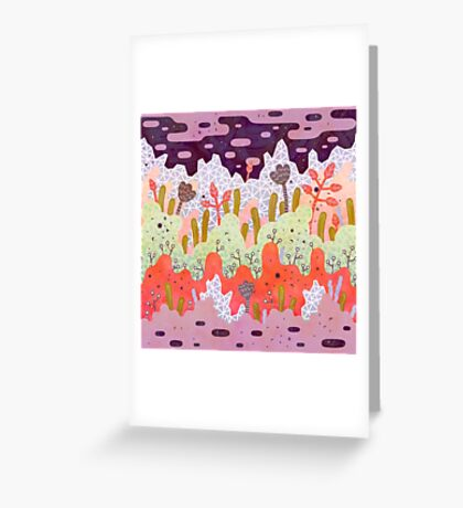Crystal Forest Greeting Card