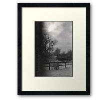 dark days Framed Print