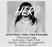 Bland Ann Photographic Print