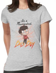 I'm a Misunderstood Bad Boy! Womens Fitted T-Shirt