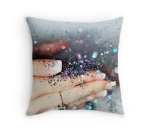 Fairy Dust Throw Pillow