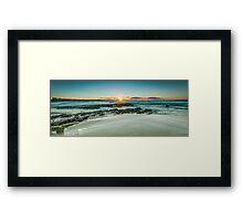 Snapper Rocks, Queensland Framed Print