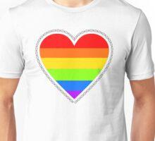 XOX Equality Heart Frame Unisex T-Shirt