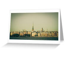 Sweden My Love Greeting Card