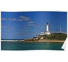 Point Lonsdale, lighthouse, Port Phillip Heads. Poster