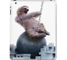 Wrecking Ball Sloth iPad Case/Skin