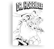 Dr. Horrible's Sing-Along Redbubble Metal Print