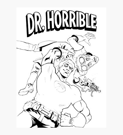 Dr. Horrible's Sing-Along Redbubble Photographic Print