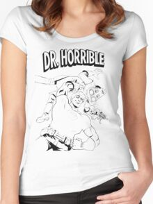 Dr. Horrible's Sing-Along Redbubble Women's Fitted Scoop T-Shirt