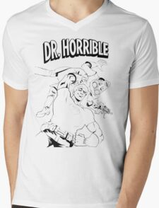 Dr. Horrible's Sing-Along Redbubble Mens V-Neck T-Shirt