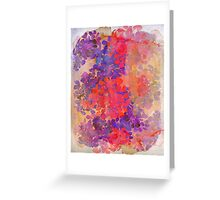 floral composition Greeting Card