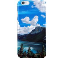 Bob Rossy Peaceful Landscape Painting iPhone Case/Skin