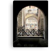 Colliseum - Rome 1 Canvas Print