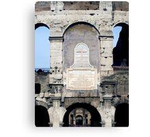 Colliseum - Rome 2 Canvas Print