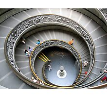 Inside the Sistine Chapel - Staircase Photographic Print