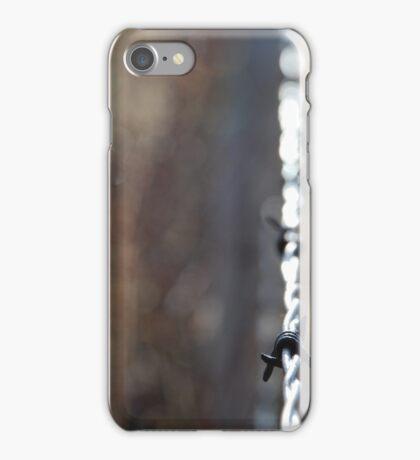 barbwire 2 iPhone Case/Skin