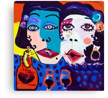 Tequila Sisters Canvas Print