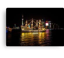 Shanghai Tall Ship Canvas Print