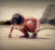 Letters In The Sand.... by SharonJH