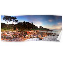 South West Australia - Castle Rock Bay - Dunsborough Poster