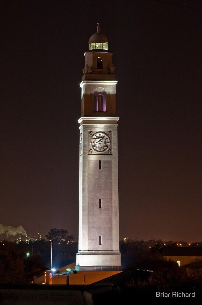 Memorial Tower - Louisiana State University by Briar Richard