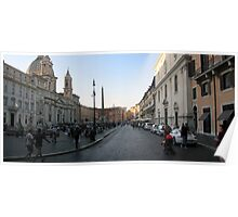 Piazza Navona - pano Poster