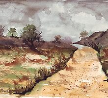 I Love A Lonely Winding Road by Maree Clarkson