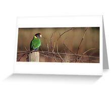 South West Australia - Margaret River Vineyard Greeting Card