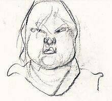 Self Portrait on Steroids #1 by WoolleyWorld